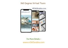 Bring your business to life with a 360° interactive virtual tour.