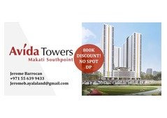 AVIDA TOWERS MAKATI SOUTHPOINT - Pre-Selling Condo For Sale