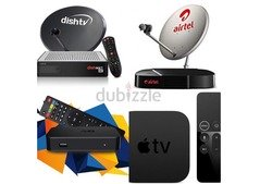 DISH TV AIR TELL IPTV CCTV 0557401426 ANY PLACE