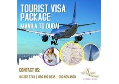 MANILA TO DUBAI TOURIST VISA PACKAGE!