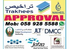 Health approval Drawings & approval from Dubai Municipality