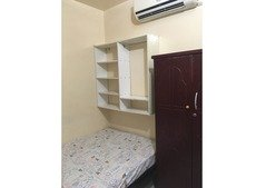 Big furnished partition room near rigga metro for couple