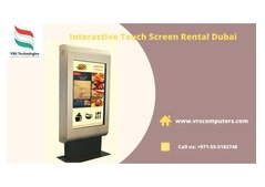 Touch screen Kiosk Hire Solutions for Events Dubai