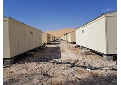 For Sale-Used Porta Cabins meant for labor and staff accommodation.