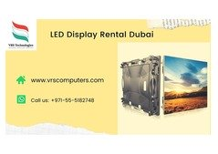 Big LCD Screen Rental Solutions for Events in Dubai