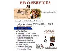 FAMILY RESIDENCE VISA SERVICES FOR WIFE AND KIDS
