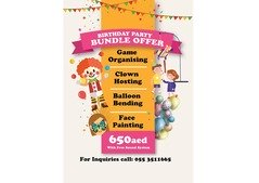 BIRTHDAY PARTY BUNDLE OFFER