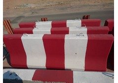 used and new concrete barrier for sale -Aed 100