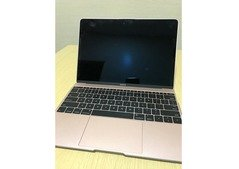 Slightly Used MacBook (Retina, 12-inch) Rosegold with case
