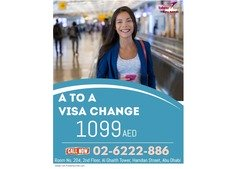 A2A Visa Change Package for as low as 1099 AED
