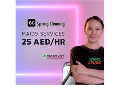 maid Services   Home Cleaning - 25 AED per hour in Dubai
