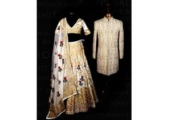 Wedding lehenga in Dubai, Jeddah online only on Rohit bal
