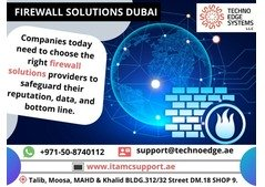 Firewall Solutions Dubai with daily reports