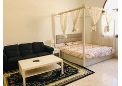 Fully Furnished studio flat 3,700 monthly in Khalifa City A .