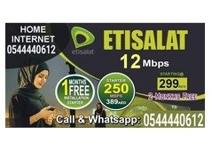 Etisalat Elife internet Packages Call or Whats-app: 0544440612