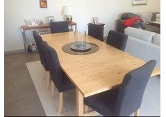 Ikea dinning table with chairs For Sale in Dubai
