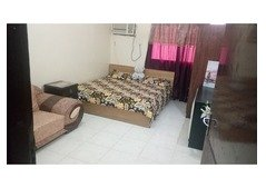 Furnished family sharing room for working couple or visitors