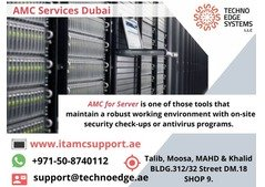 AMC for Servers and Unswerving Technical Support