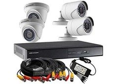 4 camera 4 channels DVR come hurry get it offer is for limitedtime