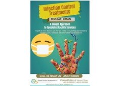 Be Safe by Stalwart Infection Control Treatment