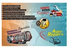 AUTOMATIC GEARBOX REPAIRING WITH GUARANTEE
