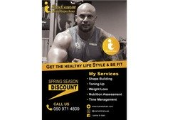Healthy Life Style and Fitness Trainer in Dubai