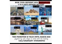 Cheapest and fastest courier service dubai