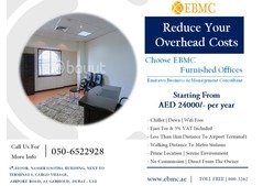 Affordable priced Furnished Offices