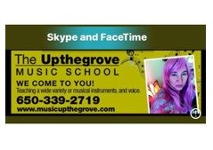 Piano lessons and English lessons via FaceTime on line!