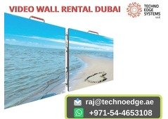 Video Wall Rental Dubai At Affordable Price