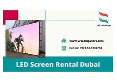 Rent to Own LED Screen for Events in Dubai