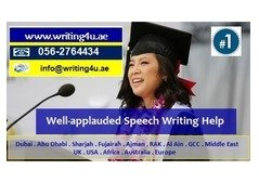 Persuasive Speech Writing Services in UAE