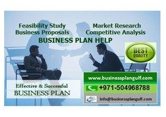 Effective BUSINESS PLAN Writing Services in UAE