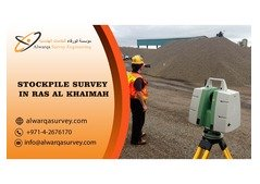 Stockpile Survey in Ras Al Khiamah