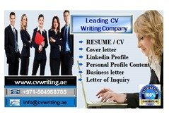 Impressively-written CV Writing Help in Dubai, UAE