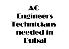 Engineers needed for our company