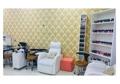 running salon for sale in Dubai