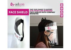 Face Shields available