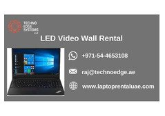 Does LED Video Wall Rental is Cost-effective in Dubai