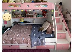 PREMIUM 3 BED BUNK BED SET WITH EXTRA STORAGE