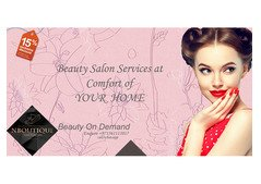 Beauty Salon Services at Home