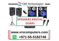 The Suppliers Of Speakers Rental Dubai