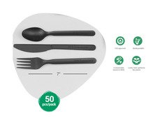 Eco friendly cutlery Set, Disposable and Biodegradable Cutlery Set