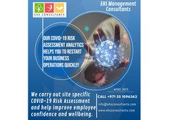 We carry out site specific COVID 19 risk assessment