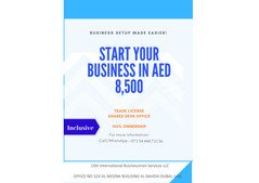 General trade license in just 8,500 AED in UAE