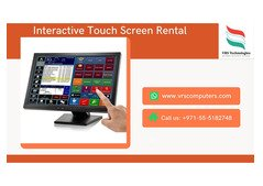 Hire Touch Screen Kiosk Rentals for Events in Dubai