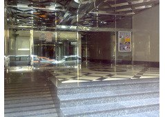 Fully Covered Partition Available on Al Ghubaiba Metro Station