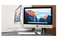 iMac 2019 retina 4K core i5 21.5inch 8GB 1TB with keyboard and mouse