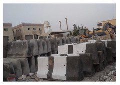 used concrete barrier for sale -Aed 80