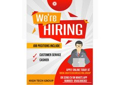 CUSTOMER SERVICES AND CASHIER